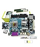 KharidiyeBasic Zebronics Motherboard Kit with 2.4Ghz Intel Core2 Duo CPU, 2GB DDR2 RAM