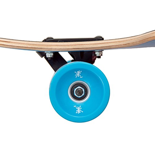 Apollo Longboard Kiribati Special Edition Komplettboard mit High Speed ABEC Kugellagern inkl. Skate T-Tool, Drop Through Freeride Skaten Cruiser Boards -