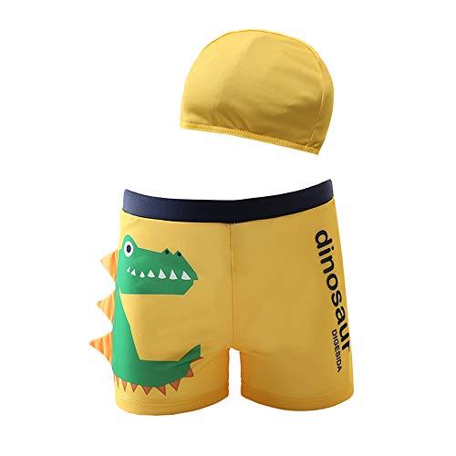 MIAOMIAOWANG Jungen Schwimmen Kostüm Outfits Jungen Kinder Dinosaurier Malerei Schwimmen Hosen Shorts Schwimmen Boxer Badehose Badeanzug 2-6 Jahre Beachwear Baden (Größe : ()