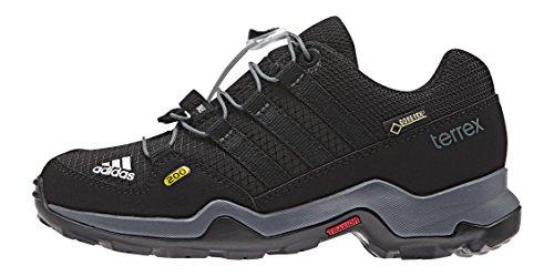 adidas - Terrex GTX K, Scarpe da corsa Unisex – Bimbi 0-24 Multicolore (Negro / Gris (Negbas / Negbas / Grivis))