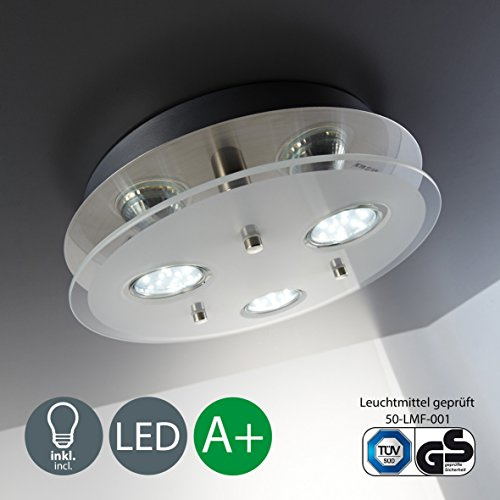 Led ceiling lights al mejor precio de amazon en savemoney round ceiling light led ceiling light eco friendly lighting led glass lamp aloadofball Image collections