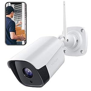 【2021 Aggiornato】Victure FHD 1080P Telecamera IP esterno, Telecamera di Sicurezza con Rilevamento di Suoni e Movimenti… 41kAnT1Gl1L. SS300