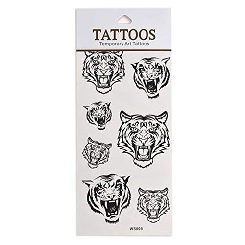 DIY Beauty Body Art Temporary Tattoo Removable Waterproof Sticker Sheet