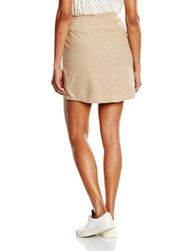 MAMALICIOUS Damen Umstandsrock Mlwinnie Linen Skirt Beige (Nomad)