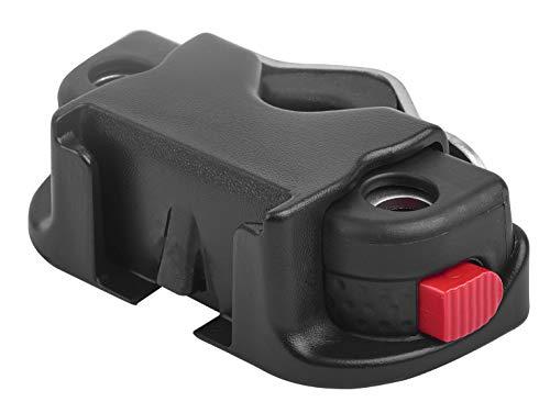 Cicli Bonin Unisex Polisport Windschutzscheibe/Front Sitz Unterstützung, schwarz, 40mm