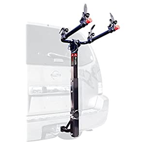 Allen Sports USA Deluxe 2 Hitch Mounted Bike Carrier - Black, 2-Inch