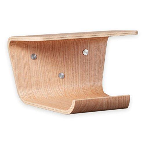 Holz-öl Finish (Designer Fahrradwandhalterung