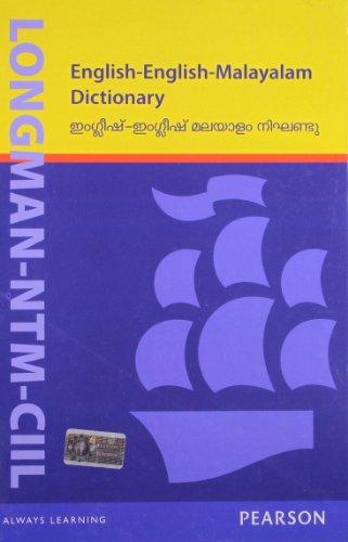 Longman-NTM-CIIL English-English-Malayalam Dictionary: Language, Linguistics & Writing/Dictionaries