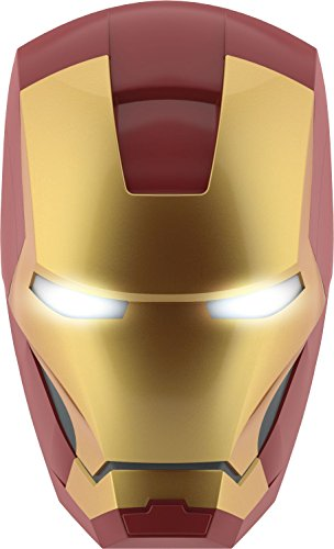 Philips Lampada da Parete Marvel Iron Man in 3D, Batterie Incluse