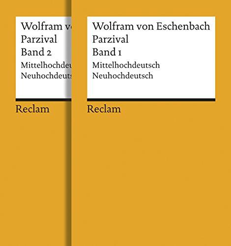 Parzival: Band 1 und 2. Mittelhochdeutsch/Neuhochdeutsch (Reclams Universal-Bibliothek)
