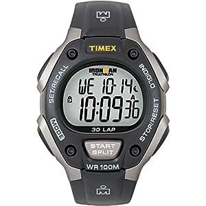 Timex T5E901 – Reloj multifunción Unisex, Color Negro y Gris