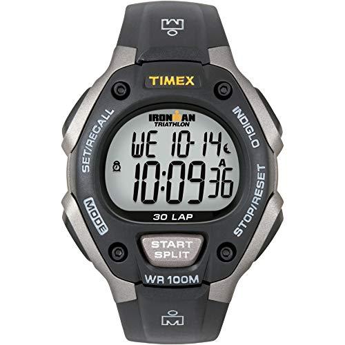 Timex Herren-Armbanduhr XL Digital Quarz Plastik T5E901SU (Männer Timex Chronograph Watch)
