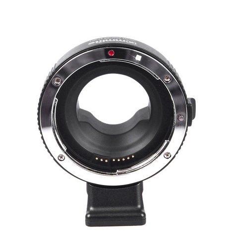 Preisvergleich Produktbild Gowe Electronic Aperture Control Lens Mount Adapter für Canon EF & EF-S zu für Olympus Panasonic m4/3Kamera