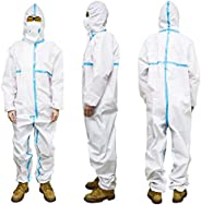 Protective Suit Isolation Gown Prevent Droplets Anti-Epidemic Disposable Protective Clothing Hazmat Suit Water