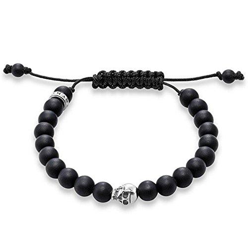 Thomas Sabo Damen-Armreifen Künstliche Perle A1118-172-11-L
