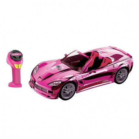 Nikko - Barbie - Voiture Radiocommandée Crusin' Corvette R/C