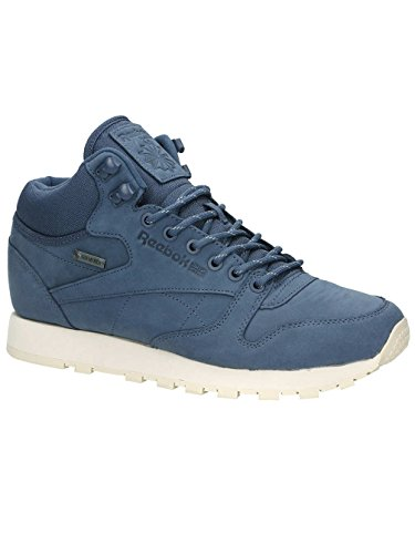 Herren Winterschuh Reebok Classic Leather Mid Gore-Tex Sneakers royal slate/paperwhite/be