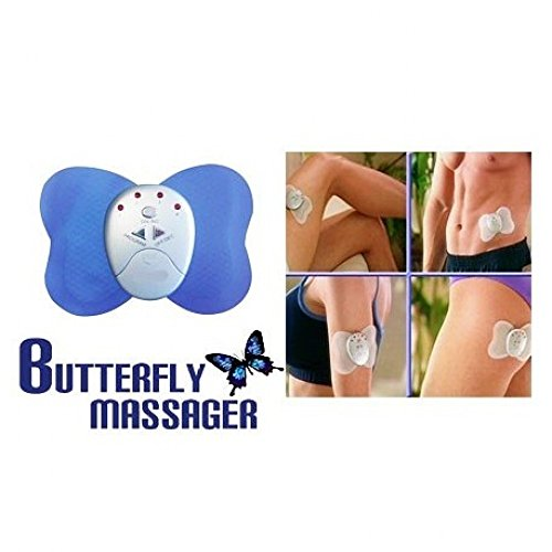 PERFECT SHOPO Big Butterfly Electronic Body Massager Slimming Vibration for Fitness  available at amazon for Rs.419
