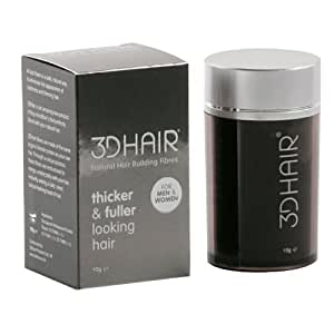 3D Hair Loss Fibres for Thinning Hair Light Brown 10g