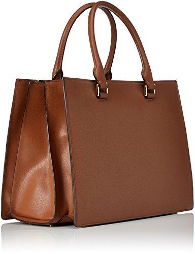 Michael Kors - Sutton, Borse a secchiello Donna Marrone (Luggage)