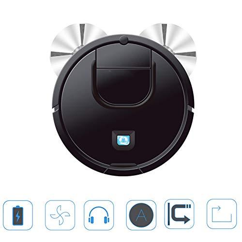 INTELZY Aspirador Robot, Aspiradora Automática 3 en 1 con 6Cm Delgado, Servicio de Robot Funciona Bien...