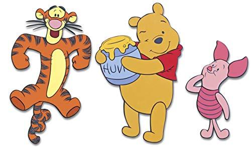 Disney - Décorations adhésives en relief - Winnie Friends