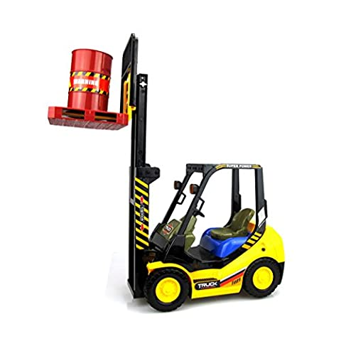Hugine RC Forklift Truck 6 Channel High Simulation Radio Control Forklift Truck Toy Remote Control Construction