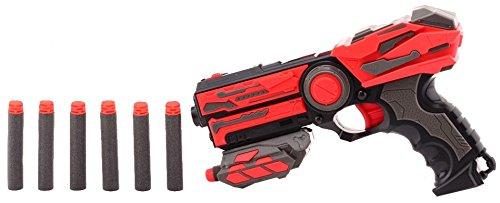 JohnToy 26968 Starterpistole Shooter schwarz/rot