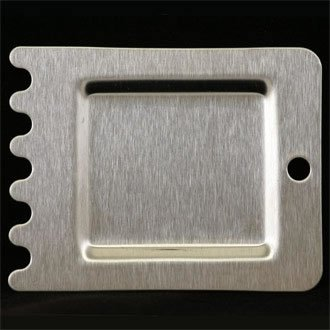 Raschietto a coste per piastra, utilizzo con griglie Buffalo e bistecchiere (codici prodotto L501/L511/L518/L530/L537/L554/L555)
