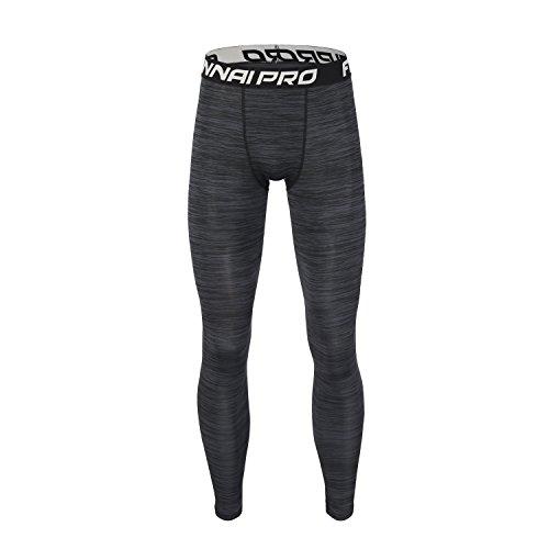 Barrageon Pantalones Largos Tight Comprensión Hombre