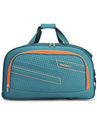 Priority ARC Set of 3 Aqua Blue Polyester 2 Wheel Duffle Bag