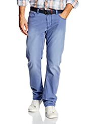 TOM TAILOR Herren Hose Uni Long Travis Regular