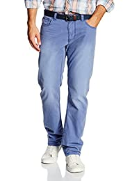 TOM TAILOR Herren Hose Hose Uni Long Travis Regular