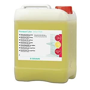 Hexaquart 18785 Flächendesinfektion Plus Lemon Fresh, 5 L