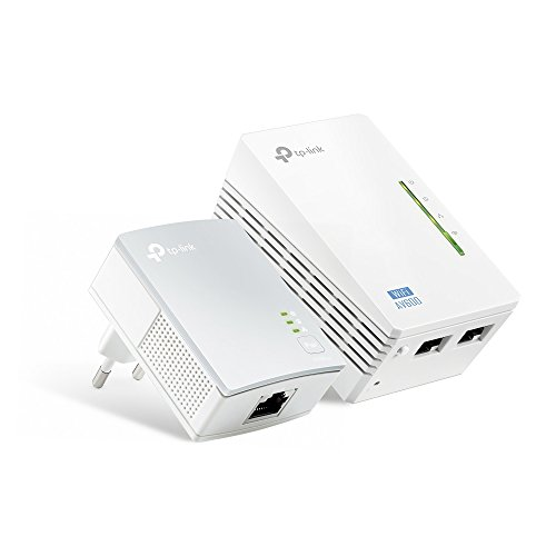 TP-Link TL-WPA4220 Kit Powerline WiFi, AV600 Mbps...