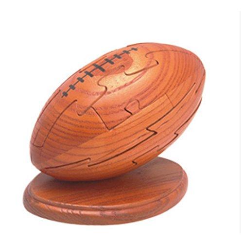 Hölzerne frühe pädagogisches lustiges Combined Rugby Dekorative Block-Spielwaren
