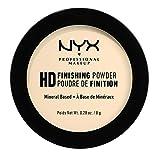 NYX Professional Makeup High Definition Finishing Powder Polvere Compatta, Finish Matte, Riduce le Zone Lucide, Tonalità Banana