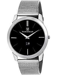 TIMEWEAR Slim Series Analog Black Dial Men's Watch