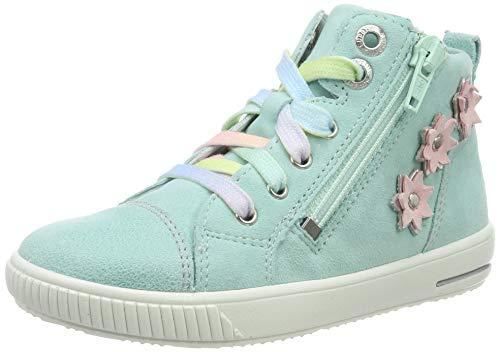 Superfit Baby Mädchen Moppy Sneaker, Türkis (Hellgrün 75), 23 EU