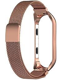 Miss de a mi Cinta 3Milanese, Acero Inoxidable Milanese Magnetic Loop Pulsera Banda Strap Brazalete para Xiaomi Mi 3