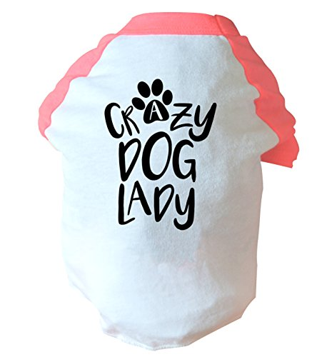 Flox Creative Crazy Dog Lady zweifarbig Weste Rosa oder Blau Gr. Large, rose -