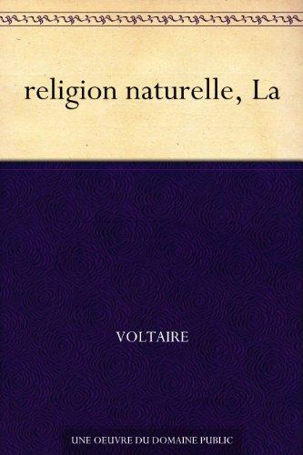 religion naturelle, La