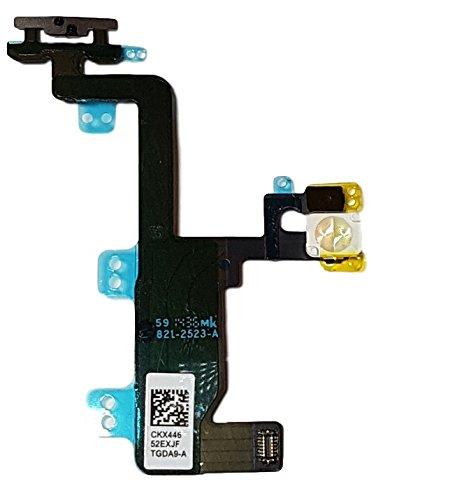 Smartex Câble Interne Flexible Bouton on Off Compatible avec iPhone 6 6G - Circuit de Rechange avec Connecteur Boutons Power, Volume, Lumière, Mute
