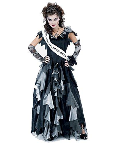 Zombie Prom Queen Kostüm Gr. (Kostüme Queen Prom Zombie)