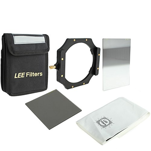 LEE Filters Digital SLR Start Kit mit Foundation Kit Filterhalter, ND 0,6 Hard Grad Grauverlaufsfilter, ProGlass ND 0,6 Graufilter und Etui