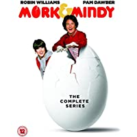 Mork and Mindy Complete TV Classic Comedy Series All 95 Episodes DVD Collection [15 Discs] Box Set: Season 1, 2, 3 and 4 + Extras: 2 Episodes of Happy Days + Gag Reels