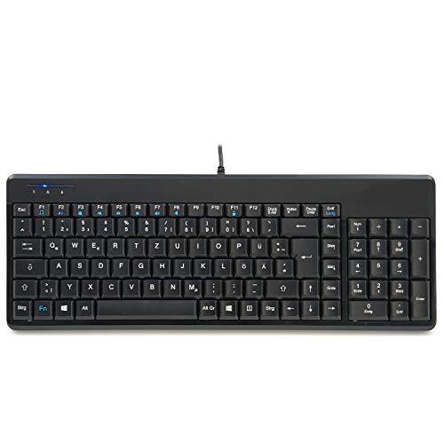 Perixx Periboard-220 Kompakte Tastatur mit USB Hub