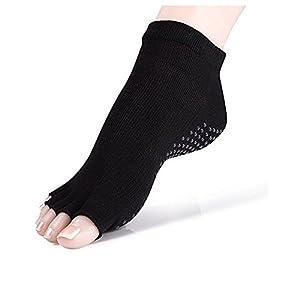 Maybesky Yoga Socken Finger Druck Baumwolle Anti-Rutsch-Finger Socken Weibliche Socken Pilates, Anti-Rutsch-Slip-Socken