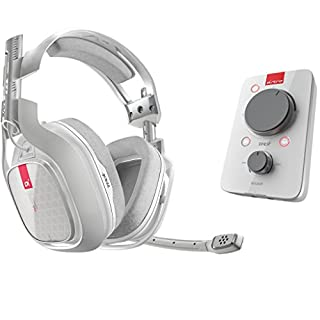 ASTRO Gaming A40 TR Wired Headset + MixAmp Pro TR With Dolby 7.1 Surround Sound - Compatible With Xbox One, PC, Mac - White