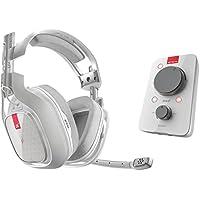 ASTRO Gaming A40 TR - Auriculares con micrófono y cable + MixAmp Pro TR con sonido envolvente Dolby 7.1, compatibles con Xbox One, PC, Mac, blanco